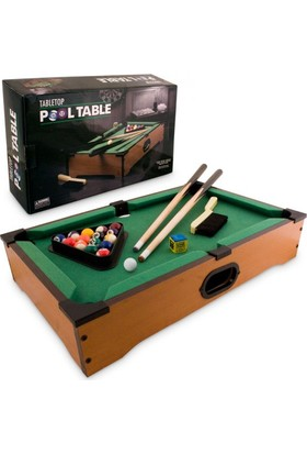 Playaks Büyük Boy Tabletop Pool Table Mini Bilardo Masası