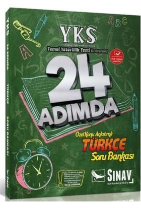 Sınav YKS 1. Oturum TYT Türkçe 24 Adımda Özel Konu Anlatımlı Soru Bankası