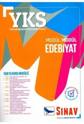 Sınav YKS 1. Oturum TYT Modül Modül Edebiyat Konu Anlatımlı