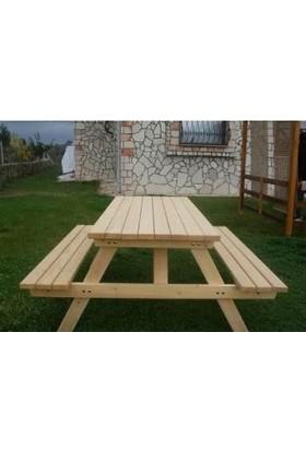 Tekzen Piknik Masası 6 KişilikRenk Naturel