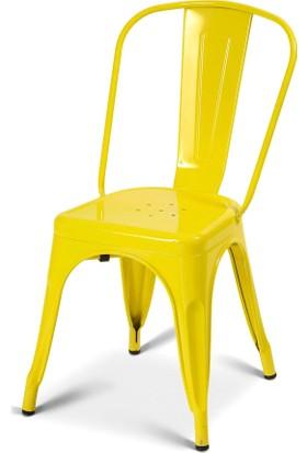 Sarı Tolix Sandalye