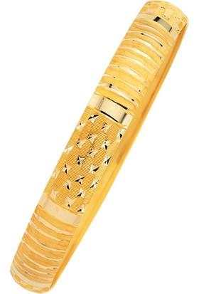 Bilezikhane 14 Ayar Altın Hediyelik Bilezik Kalemli 7 Gram