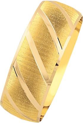 Bilezikhane 14 Ayar Altın Mega Bilezik 25 Gram Sade Model