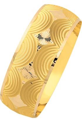 Bilezikhane 14 Ayar Altın Mega Bilezik 25.00 Gram Deniz Model