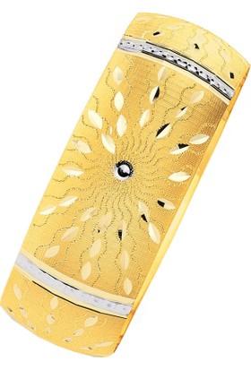 Bilezikhane 14 Ayar Altın Mega Bilezik 25.00 Gram Güneş Model