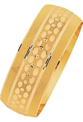 Bilezikhane 14 Ayar Altın Mega Bilezik 25.00 Gram Nil Model