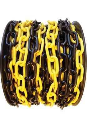 Sarı Siyah Zincir (8 Mm )