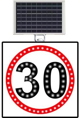 Hız Limiti 30 Km/H 600X600 Mm