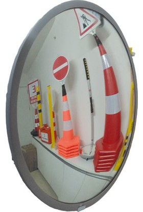 Portatif Güvenlik Aynası Cam 40 Cm