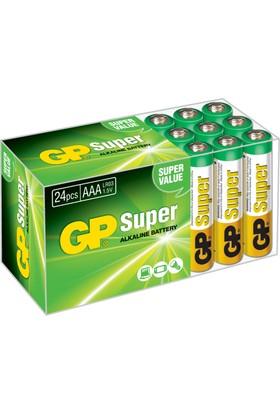 GP Super Alkalin 24'lü AAA Boy İnce Pil (GP24AMTP-2EWVS24)