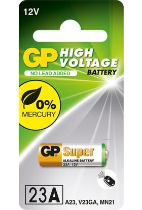 GP Tek'li 23A 12V Yüksek Voltaj Spesifik Pil (GP23AF-2C1)