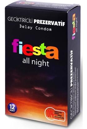 Fiesta All Night Prezervatif Fiesta 12 Adet Condom