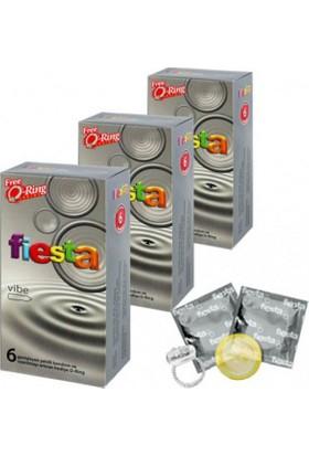 Fiesta Vibe Prezervatif + Titreşim Halka (3 Kutu)