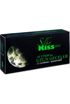 Silky Kiss Gold Prezervatif 12 Adet