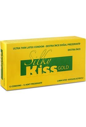 Silky Kiss Gold Ektra İnce Prezervatif 12 Adet