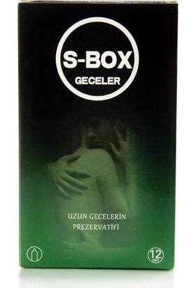 S-Box Uzun Geceler Prezervatifi S-Box Nıghts Condom 12 Adet