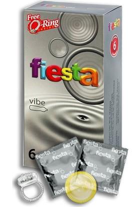 Fiesta Prezervatif Vibe 6 Adet Condom - Halka