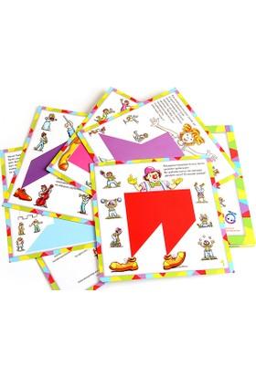 Hi-Q Toys Bilgelik - Tangram Kitap Seti 4'lü