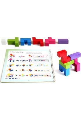 Hi-Q Toys Brain Storm (Beyin Fırtınası) - 3 Boyutlu Bloklar Zeka Oyunu