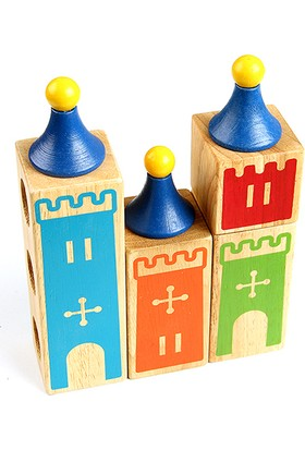 Hi-Q Toys Castle Of Dreams (Şatoları İnşa Edelim) - Zeka Oyunu
