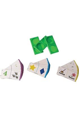 Hi-Q Toys Dominoes (Domino) - İngilizce Kelime Öğreten Zeka Oyunu