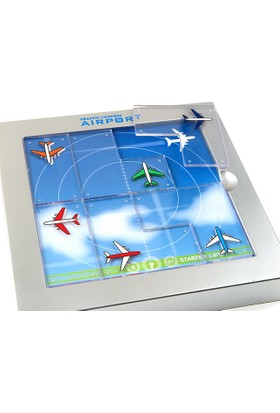 Hi-Q Toys Traffic Control Airport (Hava Trafik Kontrol Kulesi) - Zeka Oyunu