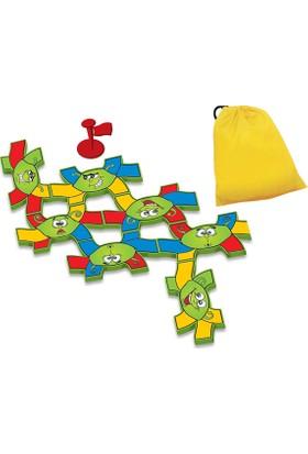 Hi-Q Toys Worms Chain (Sevimli Ahtapotlar) 6 Ayaklı Domino - Zeka Oyunu