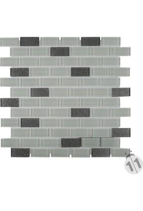 Mcm Mutfak Tezgah Arası Kristal Cam Mozaik Mp 427 / S