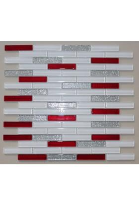 Mcm Mutfak Tezgah Arası Kristal Cam Mozaik Mp 918