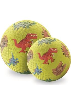 "Crocodile Creek 7\"" Playball - Dinosaurs Green"