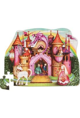 Crocodile Creek Şekilli Puzzle - Prenses Sarayı