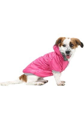 Dogi&Dog Pink Puf Mont Köpek Yağmurluk