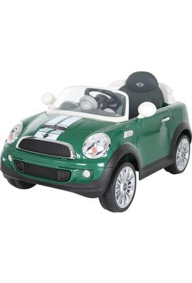 RollPlay Mini Cooper Uzaktan Kumandalı Akülü Araba 12 V - Yeşil