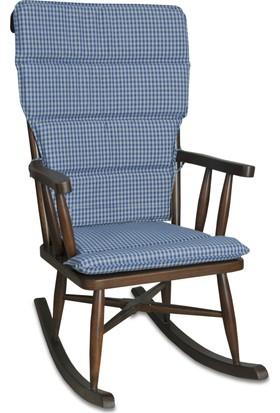 Teksas Torna Ceviz Sallanan Sandalye