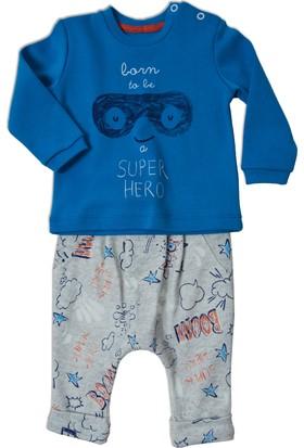 Baby Corner Şalvar Takım - Super Boy