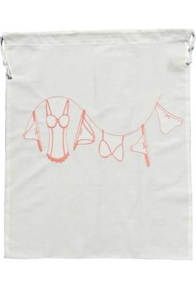 Ayça Ak özel tasarım kadın çamaşır torbası