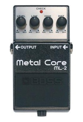 Boss Ml-2 Metal Core Compact Pedal -