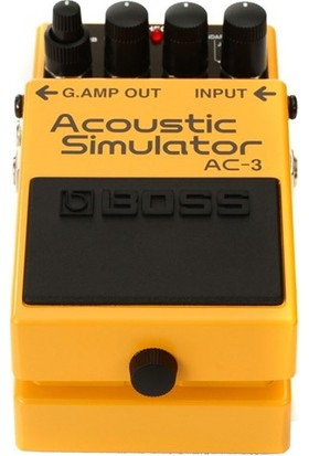 Boss Ac-3 Acoustic Simulator Compact Pedal -