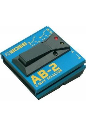 Boss Ab-2 2-Way Selector -