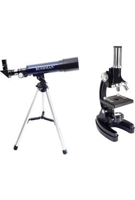 Bushman Teleskop + Mikroskop Seti