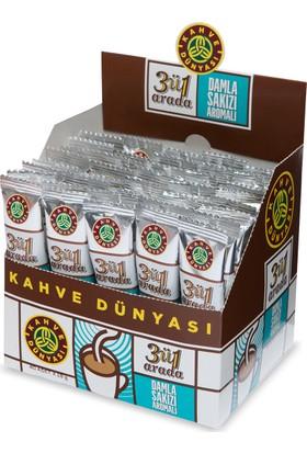 Kahve Dünyası 3'ü 1 Arada Damla Sakızı Aromalı 40lı Paket