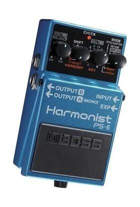 Boss Ps-6 Harmonist Pedalı -