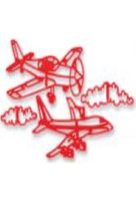 Arsiva Resim İşi Klişe Uçak Set