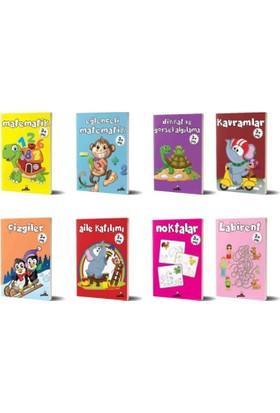 Beyaz Panda 3+ Yaş 8 Kitap Set