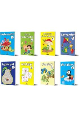 Beyaz Panda 5+ Yaş 8 Kitap Set