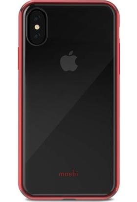 Moshi Vitros iPhone X Kırmızı Telefon Kılıfı