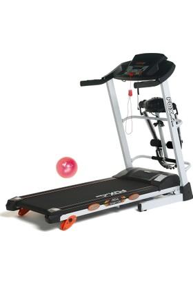 Fox Fitness New Target 70E 2.5 Hp Motorlu, Masajlı Koşu Bandı (Hediye Seçenekleriyle)