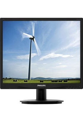"Philips 19S4QAB/01 19"" 5ms (Analog+DVI-D) Kare IPS Monitör"