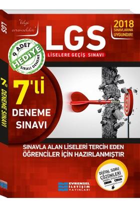 8. Sınıf Lgs 7'Li Video Çözümlü Deneme Sınavları 9 Adet Sıralı Denemeli Hediyeli
