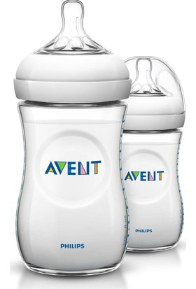 Philips Avent SCF693/27 Natural PP Biberon 260 ml 2'li